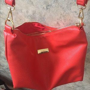 BCBG shoulder bag. Red!!